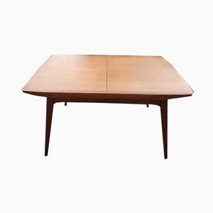 Extendable Scandinavian Table by Louis van Teeffelen for WéBé, 1960s