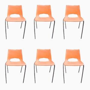 Stühle von RB France, 1960er, 6er Set