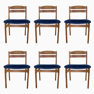 Mid-Century Teak Dining Chairs from Boltinge Stole, Set of 6