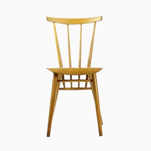 Czechoslovakian Kitchen Chair in Light Wood Finish from TON, 1960s