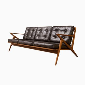 Z Lounge Sofa by Poul Jensen for Selig, 1950s