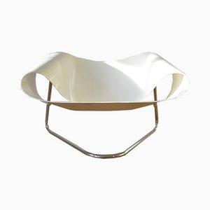 Silla CL9 Ribbon de fibra de vidrio de Cesare Leonardi & Franca Stagi para Bernini, años 60
