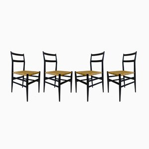 Vintage Modell 464 Stühle von Gio Ponti für Cassina, 4er Set