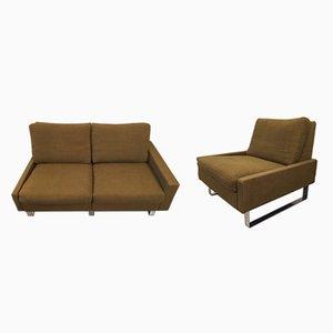 Conseta Sofa & Stuhl von Friedrich W. Möller für Cor, 1972