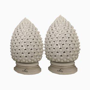 Lampes de Bureau Pigne en Céramique de La Marchesa Ceramiche Artistiche, 2009