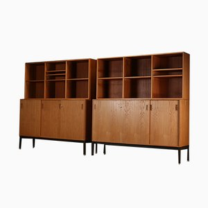 Vintage Danish School Cabinet from Scanform