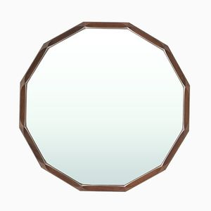 Mid-Century Spiegel mit dodekaedrischem Rahmen von Tredici, 1960er