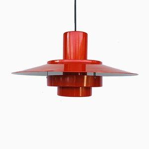 Lámpara de techo Falcon danesa vintage de Andreas Hansen para Fog & Mørup
