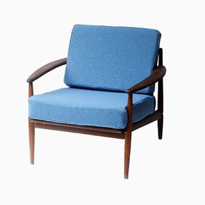 Mid-Century Danish Armchair by Grete Jalk for France & Søn