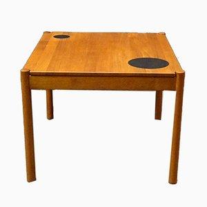 Tavolino da caffè in teak di Magnus Olesen, anni '60