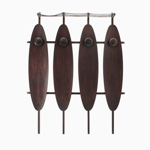 Mid-Century Italian Wall Coat Rack from Mac, 1960s