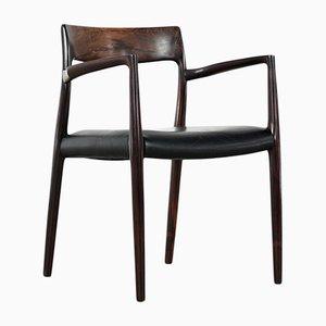 Model 57 Carver Chair by Niels O. Møller for J.L Møllers, 1959