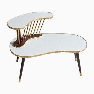 Support pour Plante ou Table en Forme de Haricot Vintage