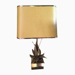 Vintage Lotus Tischlampe, 1960er
