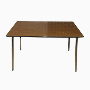 Table de Cuisine en Chrome et Formica, 1960s