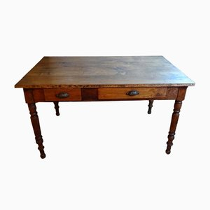 French Walnut Table, 1940s