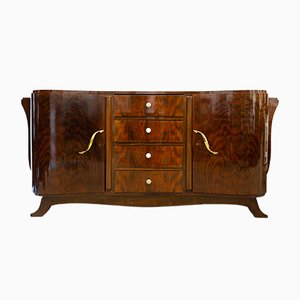 Portuguese Art Deco Walnut Sideboard, 1930s