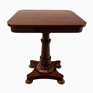 Quadratischer viktorianischer englischer Tisch, 1890er