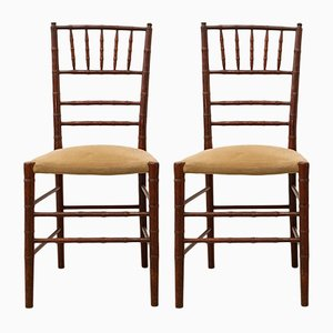 Vintage Tiffany or Chiavari Chairs, 1970s, Set of 2