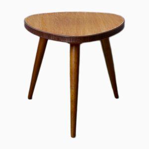 Vintage Tripod Side Table, 1950s
