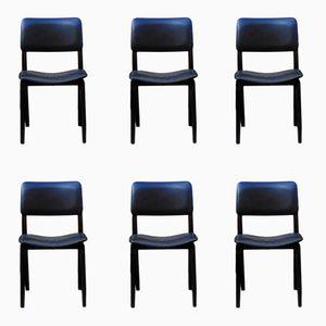 Vintage N6 Stühle von Eugenio Gerli für Tecno, 1950er, 6er Set