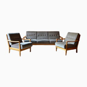 Mid-Century Living Room Set from Walter Knoll
