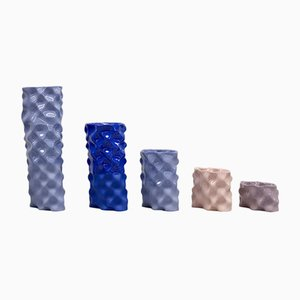 Set Wave Lavande, Cobalt, Mauve et Rose par Mari JJ Design
