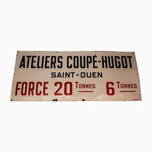 Französisches Mid-Century Schild von Laborde, 1950er