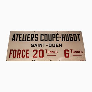Mid-Century French Sign from Laborde, 1950s