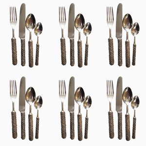 Silvered Cutlery Set, 1980s
