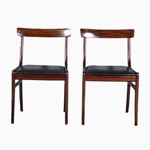 Rungstedlund Stühle von Ole Wanscher für Poul Jeppesen Møbelfabrik, 1960er, 2er Set
