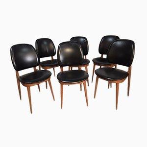 Chaises de Salle à Manger Pegase par Pierre Guariche pour Baumann, 1960s, Set de 6