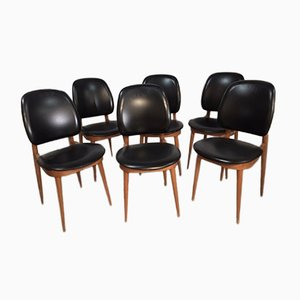 Pegase Dining Chairs by Pierre Guariche for Baumann, 1960s, Set of 6