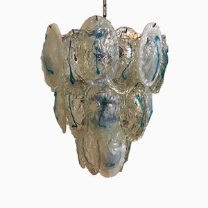 Mid-Century Murano Glass Chandelier from Mazzega