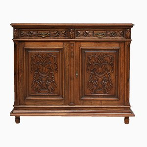 Antique French Oak Sideboard