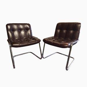 Storm Esszimmerstühle von Yves Christin für Airborne, 1960er, 2er Set