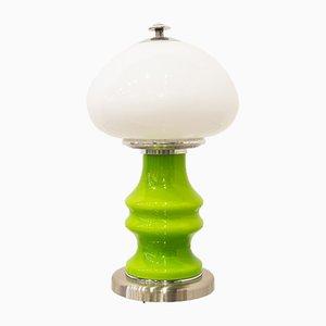 Lámpara de mesa italiana era espacial, años 70
