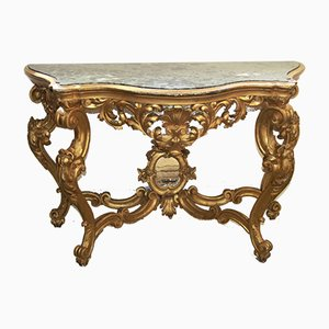Antique Italian Console Table