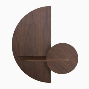 Alba M Semi Circle Wall Shelf by Daniel García Sánchez for WOODENDOT