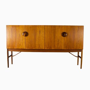 No.4060 Teak Sideboard with Rosewood Handles by Ib Kofod-Larsen for G-Plan