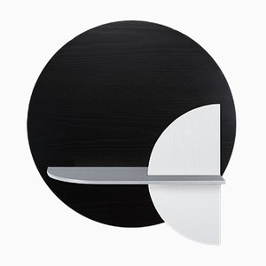 Alba M Circle Wall Shelf by Daniel García Sánchez for WOODENDOT
