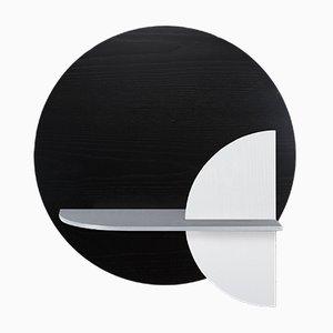 Alba M Circle Wandregal von Daniel García Sánchez für WOODENDOT