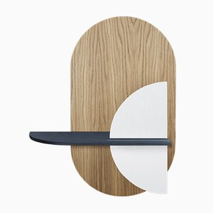Alba M Oval Wall Shelf by Daniel García Sánchez for WOODENDOT