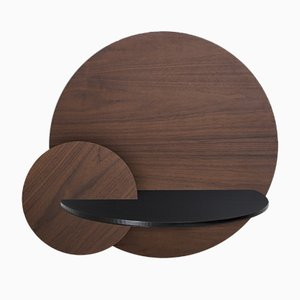 Alba L Round Bedside Table by Daniel García Sánchez for WOODENDOT