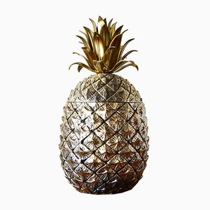 Pineapple Ice Bucket by Mauro Manetti for Fonderia d'Arte, 1970s