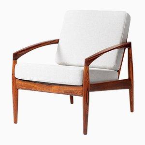 Paper Knife Stühle aus Palisander von Kai Kristiansen für Magnus Olesen, 1950er, 2er Set