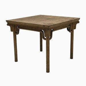Chinesischer Tisch aus Ulmenholz, 1890er