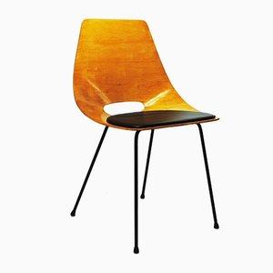 Tonneau Stuhl von Pierre Guariche, 1950er