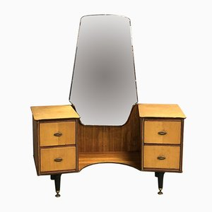 Teak and Oak Dressing Table, 1970s