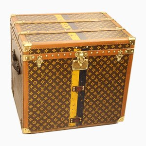 Vintage Monogram Steamer Trunk from Louis Vuitton, 1930s
